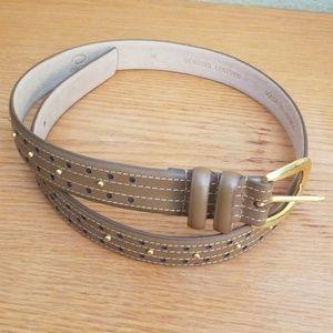 Oscar De La Renta leather belt, M